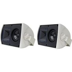 """Klipsch AW525 5.25"""" Reference All-Weather Outdoor Loudspeaker - Pair (White) by Klipsch. $449.00"""