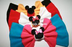 New Mickey & Minnie bows!    http://sincerelymaeko.storenvy.com