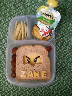 Despicable Bentos: Wednesday's Lunch: Lego Ninjago