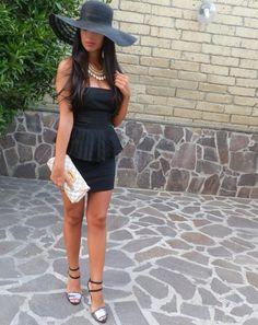 Peplume dress