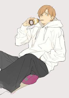 Haikyuu Funny, Haikyuu Fanart, Haikyuu Anime, Haikyuu Wallpaper, Natsume Yuujinchou, Kuroken, Cute Anime Guys, You Draw, Boy Art