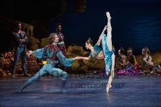 London, UK. 16.10.2013. English National Ballet present the world premiere of LE CORSAIRE.