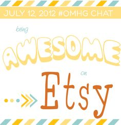 #OMHG – July 12: Being Awesome on Etsy « oh my! handmade goodness