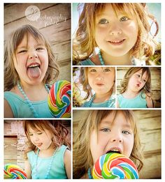 Need something like this with Jayleen!!!!!!!!                           Photography by Jessie, lollipop photo session with a sassy 5 year old