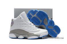 Best Quality Kids Air Jordan 13 White Italy Blue-Wolf Grey For Sale Nike Kids Shoes, Jordan Shoes For Kids, Nike Basketball Shoes, Air Jordan Shoes, Boys Shoes, Nike Air Jordans, Kids Jordans, Retro Jordans, Tennis