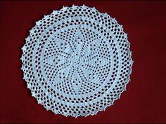 Free Crochet Flower for Begineers - YouTube