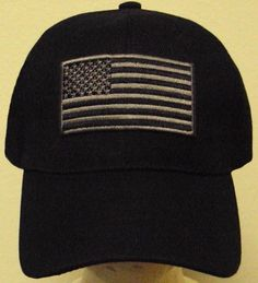 TACTICAL MILITARY SPECIAL FORCES OPERATOR AMERICA PATCH USA FLAG CAP HAT  BLACK c7b983eff42c