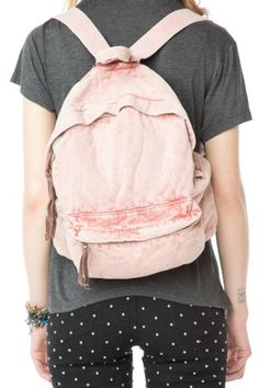 Brandy ♥ Melville | Washed Fabric Backpack