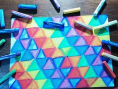 Colorfull triangle