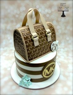 Michael Kors - Cake by Sweet Love & Cake OMG! Someone, anyone, make this for me!!