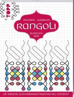 Rangoli von Nicole Masson https://www.topp-kreativ.de/rangoli-8221.html #frechverlag #topp #diy #malen #basteln
