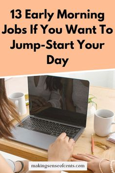 13 Early Morning Jobs If You Want To Jump-Start Your Day Survey Companies, Survey Sites, Earn Extra Cash, Extra Money, Make Money Online, How To Make Money, Pick Up Trash, How To Wake Up Early, Student Loans