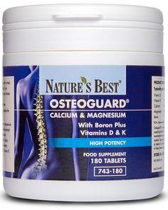 Osteoguard | Calcium & Magnesium Tablets | Nature's Best