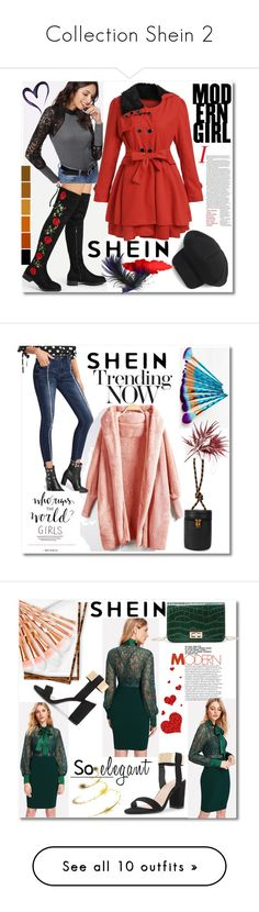 """""""Collection Shein 2"""" by crvenamalina ❤ liked on Polyvore featuring WithChic and Maybelline"""