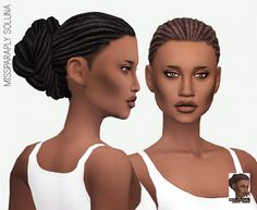 SOLUNA HAIR SOLIDS at Miss Paraply via Sims 4 Updates  Check more at http://sims4updates.net/hairstyles/soluna-hair-solids-at-miss-paraply/
