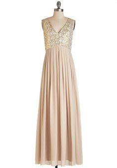 Minuet dba Audrea Inc Fairytale FC*te Dress #blush #gold #sequin #sequins #gown #bridesmaid #bridesmaids #dress #glam #formal #pink