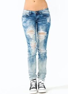 Dsquared2 Slim bleached distressed jeans ($525) ❤ liked on ...