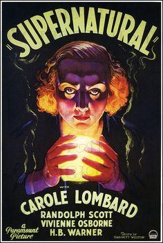 SUPERNATURAL! Vintage Movie Poster Illustration! Vintage Digital Download.  Digital Movie Print. Car