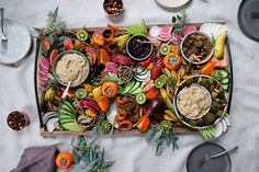 The Perfect Holiday Party Spread + Caramelized Fennel Dip – Wu Haus