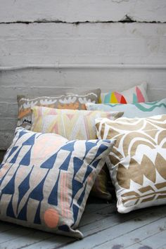 Oslo Pillow Cover 16 x 16 by leahduncan on Etsy, $40.00