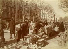 Barcelona (1907-1908), Frederic Ballell: Rambla de Canaletas. Vendedores de pájaros.