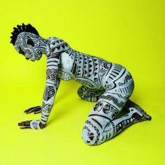 Laolu x Maximus Sacred Art Of The Ori For Colored Girls #SATOFCG Photo/Visual by @edmaximus Body Art/Music by @laolusenbanjo  Muse: @labelletogolaise  Something big is coming... #sacredartoftheori #forcoloredgirls #fcg #laolunyc #edmaximus #ladydance #firedance