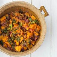 Sweet Potato & Kale Chili