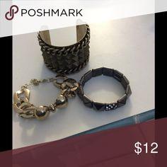 BUNDLE OF 3 NWOT BRACELETS BUNDLE OF 3 NWOT BRACELETS Jewelry Bracelets