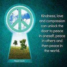 Unlock the door to peace.