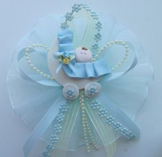 baby shower corsages   Baby Carriage Corsage