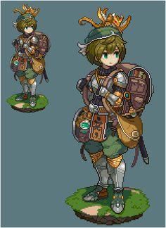 Pixel Art Gif, How To Pixel Art, Anime Pixel Art, Pixel Art Games, Character Concept, Character Art, Concept Art, Pokemon, Arte 8 Bits