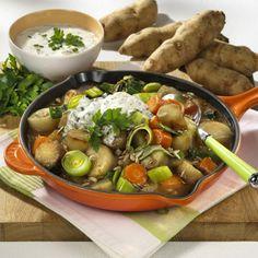 Topinambur-Gemüse-Pfanne Rezept | LECKER