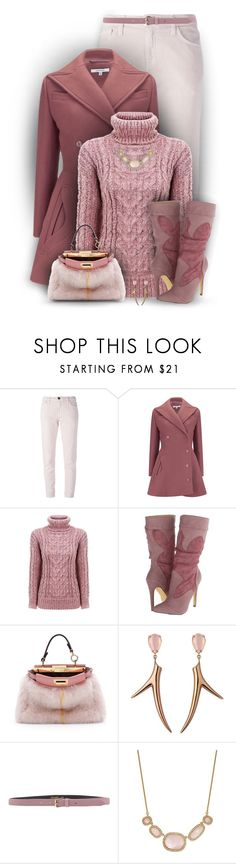 """""""V4B #494"""" by valforeverblue ❤ liked on Polyvore featuring Current/Elliott, Carven, Michael Antonio, Fendi, Shaun Leane, Blugirl, Kate Spade, women's clothing, women's fashion and women"""