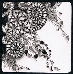 Lily's Tangles: Square One: Purely Zentangle®