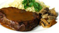 Solomillo en su punto Madrid, Steak, Food, Beef, Pork, Restaurants, Cooking Recipes, Essen, Steaks