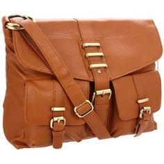 Big Buddha Hanna Messenger Bag ($70) ❤ liked on Polyvore featuring bags, messenger bags, purses, accessories, bolsas, handbags, fake bags, brown bag, slouch bag and big buddha