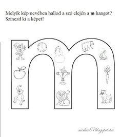 Játékos tanulás és kreativitás: Kisbetűkben képek a hangfelismerés gyakorlásához Dysgraphia, Aphasia, Pre School, Literature, Language, Classroom, Letters, Teaching, Kids