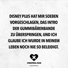 disney quotes Disney Plus hat mir soeben v - quotes Funny As Hell, Haha Funny, Funny Cute, V Quote, Love Quotes, Wallpaper Fofos, Disney World Tips And Tricks, Visual Statements, True Facts