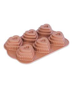 Look at this #zulilyfind! Tiered Heart Cupcake Pan #zulilyfinds