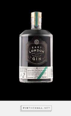 East London Liquor Company Spirits Packaging by Stranger and Stranger