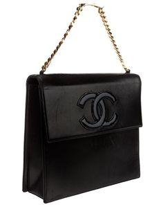 Chanel Vintage Logo Bag