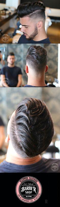 Barberia y peluqueria hombres el Elche Visita Abel Pelukeros C/ Capitan Antonio Mena 73 / Telf Citas. 966630393 • www.abelpelukeros.com - Trabajo realizado por el equipo Abel Pelukeros Elche Peluquería caballeros en Elche Alicante #Peluqueria #Hombre #Niños #Kid #Estilo #Style #Barber #Barbershop #Men #Barberia #Afeitado #Shave #AmericanCrew #Haircut #Abelpelukeros #Caballero #Masculino #Barbas #Cabello #Hair #Pelo #Hairdressing #Elche #Spain
