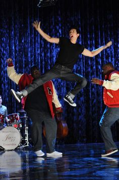 Day 23 of the Glee Challenge A character I want to see more of -Mike