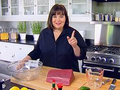 Tuna Tartare Recipe : Ina Garten : Food Network This is a great Tuna Tartare recipe! Ina's recipe serves 50 so I scale it down. Its our family's favorite. Tuna Sushi Recipe, Tuna Tartare Recipe, Dip Recipes, Cooking Recipes, Healthy Recipes, Recipies, Raw Tuna, Salmon Tartare, Barefoot Contessa