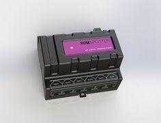 RDMSplitter DIN Rail splitter booster with connectors Lighting, Light Fixtures, Lights, Lightning