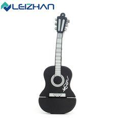 LEIZHAN USB Flash Drive Musical Instrument Guitar 4g 8g 16g 32g Pen Drive Memory Stick USB Flash Card  PenDrive 64g USB Disk