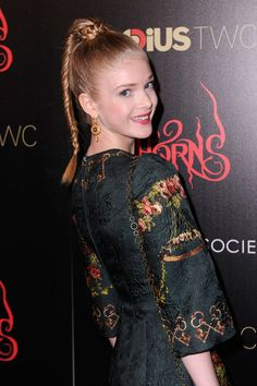 Elena Kampouris in 'Horns' Premieres in NYC