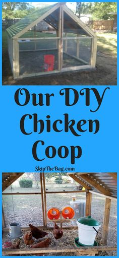 SkipTheBag: Our DIY Chicken Coop