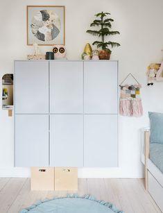 Baby Boy Rooms, Baby Room, Bauhaus, Hacks Ikea, Interior Design Color Schemes, Scandinavian Kids Rooms, Boys Bedroom Decor, Plads, Cool Rooms
