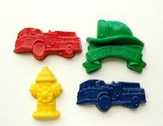 Fireman Party Favors - Package Of 1..